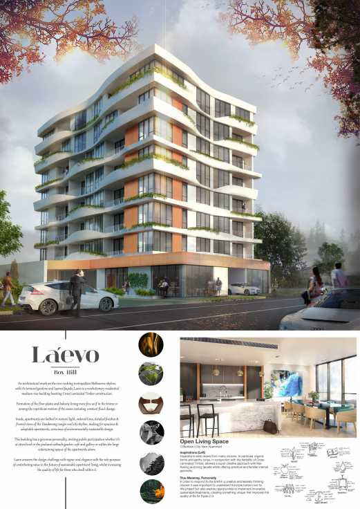 Laevo Cross Laminated Timber Apartments