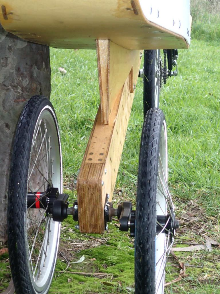 Timber Leaning Trike.