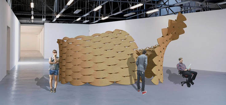 The Parametric Plywood Pavilion
