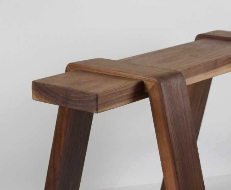 Pommel Bench Stool
